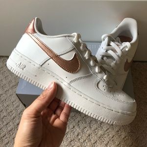 52dcc82d2273ce Nike Shoes - 🍀New🍀 NIKE rose gold Air Force 1 GS ~ 4.5Y